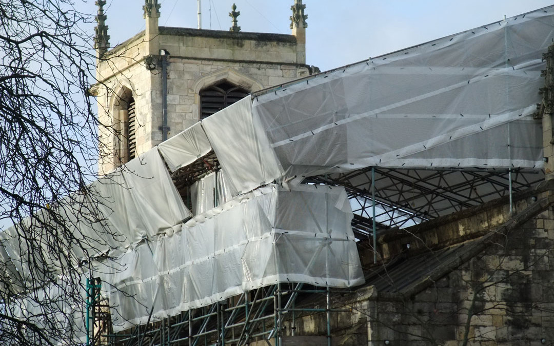St Olave's Church Roof Repairs