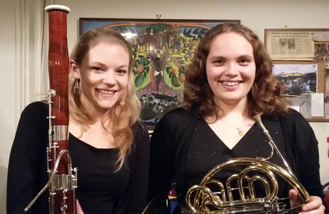 Guylaine Eckersley and Lizzy Nightingale - September 2015
