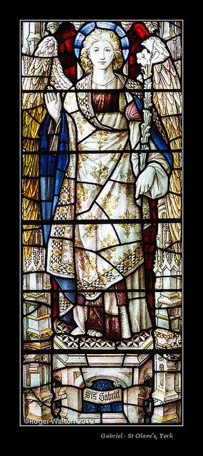 Gabriel - St Olave's, York - Shrigley and Hunt, 1902