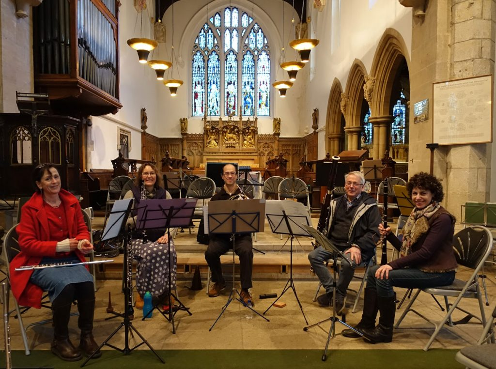ASO Wind Quintet, January 2018