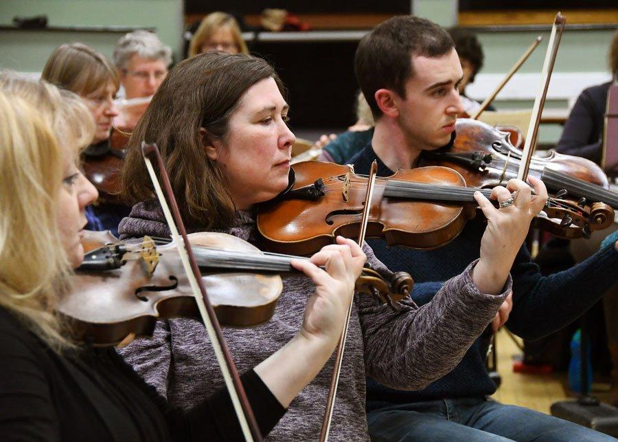 Academy of St Olave's strings